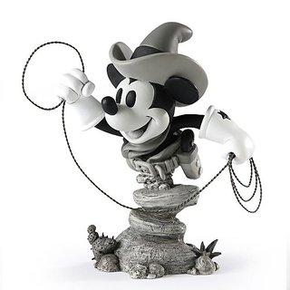 Grand Jester Studios Cowboy Mickey Figurine, 6.25-Inch