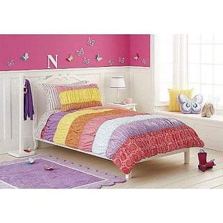 Circo Basic Collection Warm Banded 7 Piece Bed Set - Full
