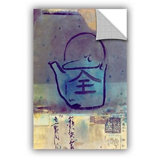Elana Rays Good Tea Art Appeelz Removable Graphic Wall Art, 12 x 18