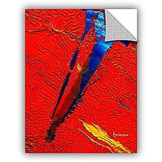 ArtWall Byron Mays Forbidden Paradise Art Appeelz Removable Graphic Wall Art, 36 x 48