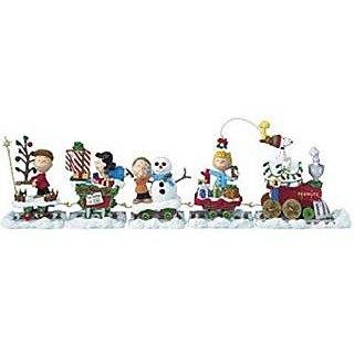 Danbury Mint Peanuts Holiday Train Christmas Train