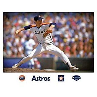 MLB Houston Astros Nolan Ryan Mural Wall Graphic