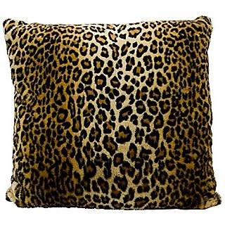Mina Victory by Nourison FL102 Brown Decorative Pillow, 22