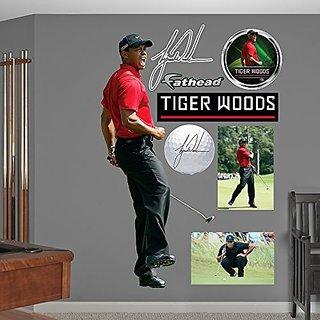 PGA Tiger Woods Sunday Wall Decal