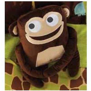 Circo Monkey Pillow - Wild Safari Collection