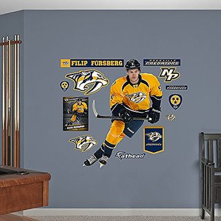 NHL Nashville Predators Filip Forsberg Wall Decal