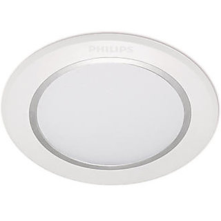 Philips Led Flat Recessed False Ceiling Light 45017 15x0 5w 65k White Available At Shopclues For