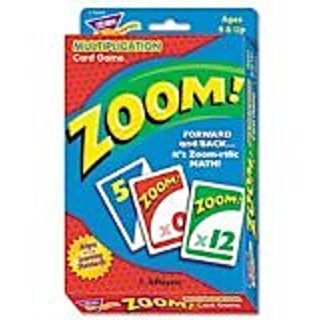 Trend Zoom Math Card Game, Ages 9 and Up