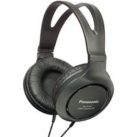 Panasonic RP-HT161 Wired Headphones (Black, Over the Ear)