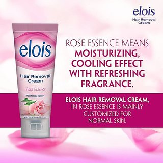 Elois Hair Removal Cream Rose Essence Normal Skin (set of 4 pcs.)25 gms each