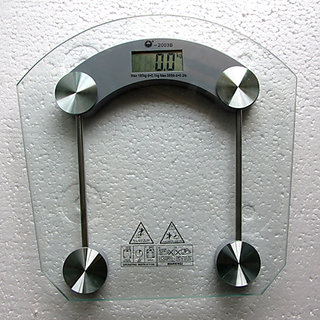 Digital Weight Scale Glass / Personal Weighing Machine 180Kgs available at ShopClues for Rs.699