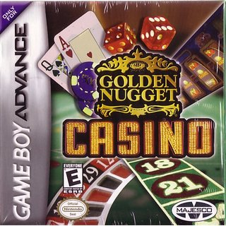 Golden Nugget Casino by Majesco Sales Inc. - Game Boy Advance (ESRB Rating: Everyone)