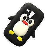 Penguin Back Case For Samsung S Duos 7562 Black