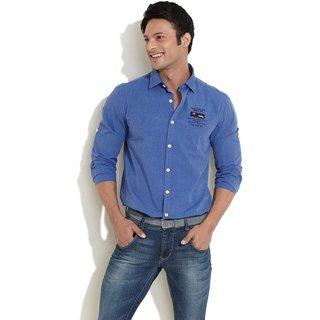 Scullers Sport Style Team Sporty Shirt (Dark Blue) (Option 2)