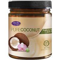 Life-Flo Organic Pure Coconut Oil, 9 Ounce