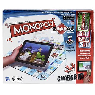 Monopoly Brand Game Zapped Edition