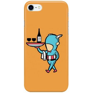 Dreambolic captain waiter Back Cover for Apple iPhone 7