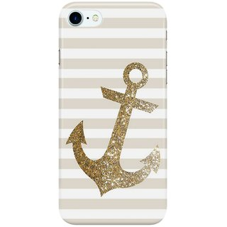 Dreambolic GLITTER-ANCHOR-IN-GOLD Back Cover for Apple iPhone 7