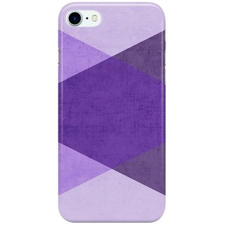 Dreambolic purple-triangles Back Cover for Apple iPhone 7