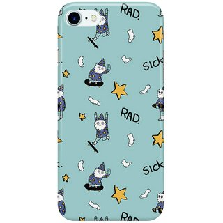 Dreambolic sick-wizards-blue Back Cover for Apple iPhone 7