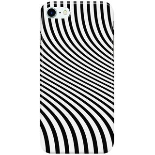 Dreambolic zebra-stripes Back Cover for Apple iPhone 7