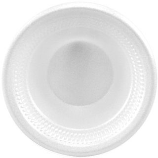 SOLO 5BWWC Basix Unlaminated Polystyrene Foam Bowl, 5 oz. Capacity, White (Case of 1,000)