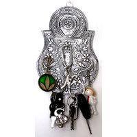 Handmade Decorative Wall mounted Key Stand/Holder - Lock Design