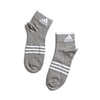 Adidas Adidas Knit High Ankle Socks (Light Grey)