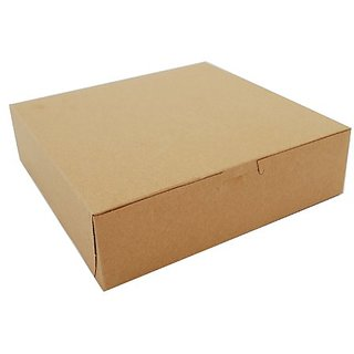 Southern Champion Tray 0953K Kraft Paperboard Non Window Lock Corner Bakery Box, 9