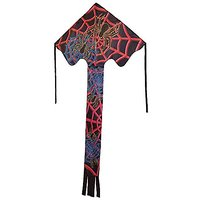 In The Breeze Spider Web Fly-Hi Delta Kite, 48-Inch