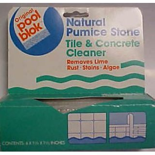 Pumice PB-80 Pool Blok Pool and Spa Cleaner - 6-1/2