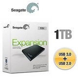 "New Seagate Expansion 1 TB USB 2.0 + 3.0 Portable 2.5"" HDD @ Best Price..!"