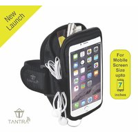 Tantra Mobi-Case Arm Band Adjustable Sports Running, Jogging, Gym, Yoga, Aerobics, Cycling Anti-slip L Size upto 7 inch