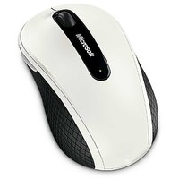 Microsoft Software-Microsoft Wireless Mobile Mouse 4000 With Bluetrack Technology (White)