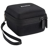 Caseling Hard Case For Omaker M4 Wireless Portable Bluetooth Speakers. - Mesh Pocket For The Cables.