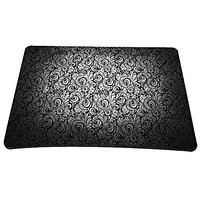 "Black Design NEW Big Size 14"" X 10"" Computer Optical Neoprene Mousepad PC Mouse Mat Mice Pad Silicone Mouse Pad FP-MP-02"
