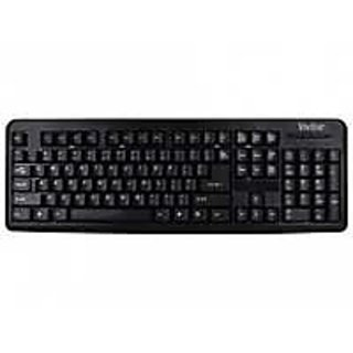 Vivitar Classic USB + Ps/2 Wired Keyboard (Mouse Not Included)