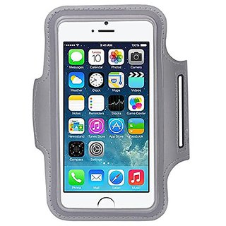 MALLCROWN iPhone 6 Plus Armband,Water Resistant, Sweat-proof Dual Arm-Size Slot key with Headphone Ports Pocket, Sports