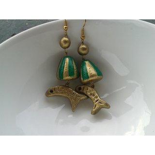Deepsea Terracotta Jewellery - Jhumka - DSJ/J01