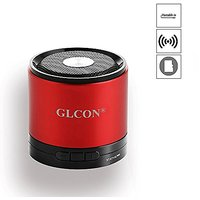 GLCON GS-M7 New Version Aluminium Alloy Housing Super Bass Wireless Mini Portable Bluetooth Speakers, With Built-in Mic,