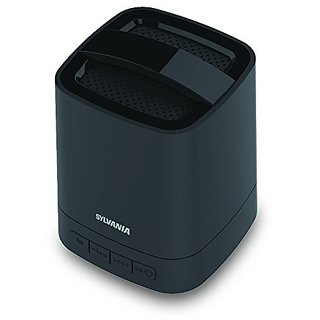 Sylvania Bluetooth Wireless Mini Speaker with Rechargeable Battery (Black)