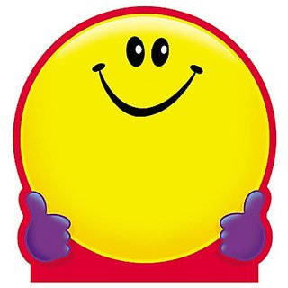 Trend Enterprises Smiley Face Note Pad, 5