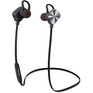 Mpow Magneto Wearable Bluetooth 4.1 Wireless Sports Headphones In-ear aptX Stereo Earbuds Headsets with 8-Hour Mic Talki