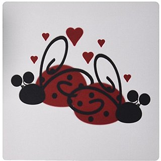 3drose Lady Bugs In Love - Mouse Pad