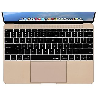 XSKN Silicone Keyboard Skin Cover for MacBook 12