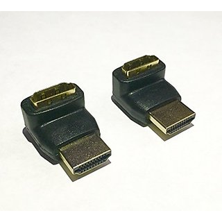 Kyper 270 Degree HDMI Male to Female Adapter - 2 Pack