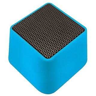 Vibe Sound Bluetooth Rhombo Speaker - Retail Packaging - Blue