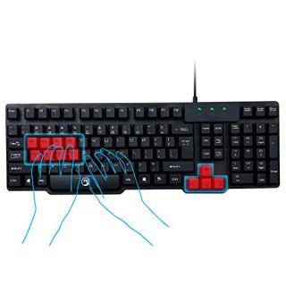 Marvo K201 USB Gaming Keyboard