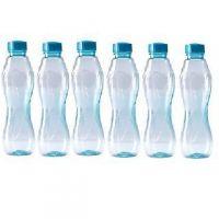 Detak  Water Bottles ( Set Of  Six Pcs)