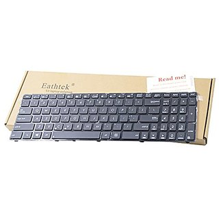 Eathtek New Laptop Keyboard with Frame for Asus K53E X53U X53E K53S K53SC K53SC-1B K53SD K53SJ K53Sj-3C K53SV K53BY X53S